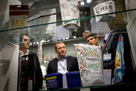 Labelexpo Europe exhibits included the latest in flexible packaging and label materials