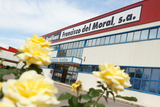 Gráficas Francisco del Moral print facilities, Andalucía, Spain.