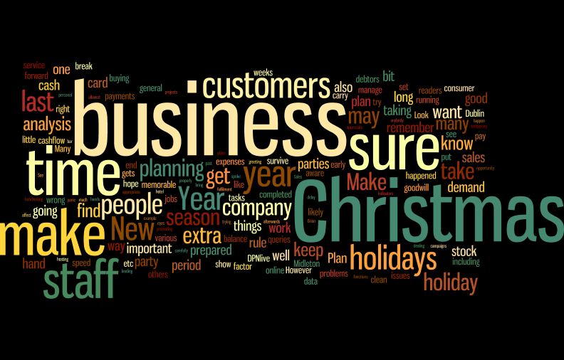12 Tips On How To Manage Your Business Over The Holiday Period.