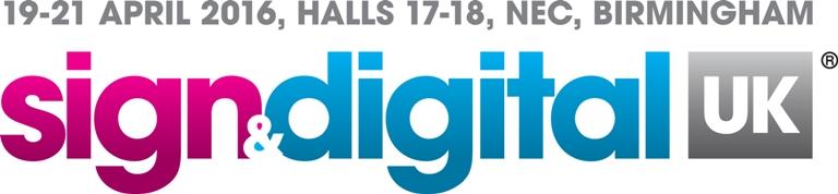 Sign & Digital 2016 dates