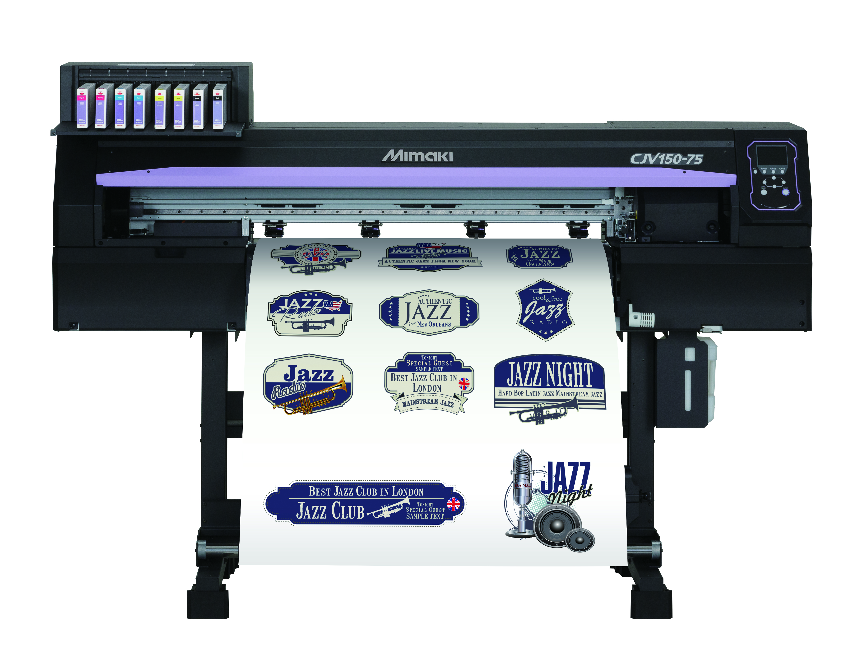 The smallest of Mimaki's new printer cutters is the CJV150-75
