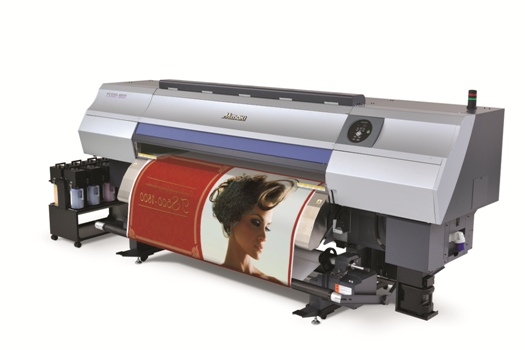 The Mimaki TS500 is one of the textile printers in the range to benefit from the inks