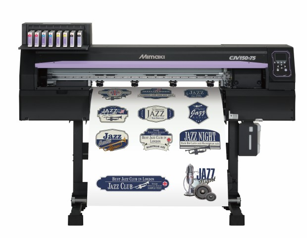 Caption: The Mimaki CJV150-75 integrated printer-cutter only £5,995.