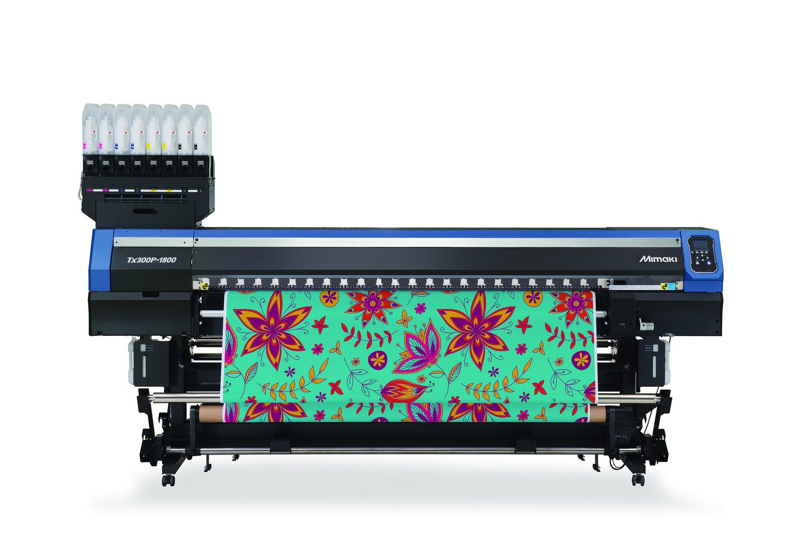 The Mimaki Tx300P-1800 high quality, versatile, direct-to-textile printer.