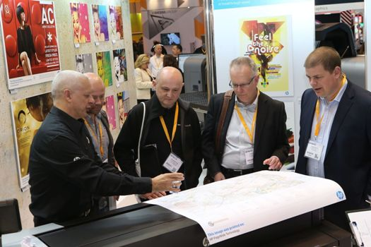 Demonstration and advice by HP at SDUK 2016