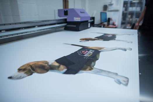 Beagle foxhunt print