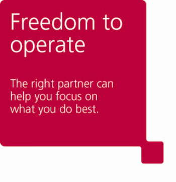 Freedom to operate logo