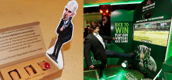 The Horizon Halloween Promotion and Heineken Interactive Print Campaign