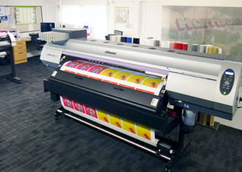 Investment in the latest Mimaki SUV wide format printer is delivering a competitive edge for Harrisons Signs