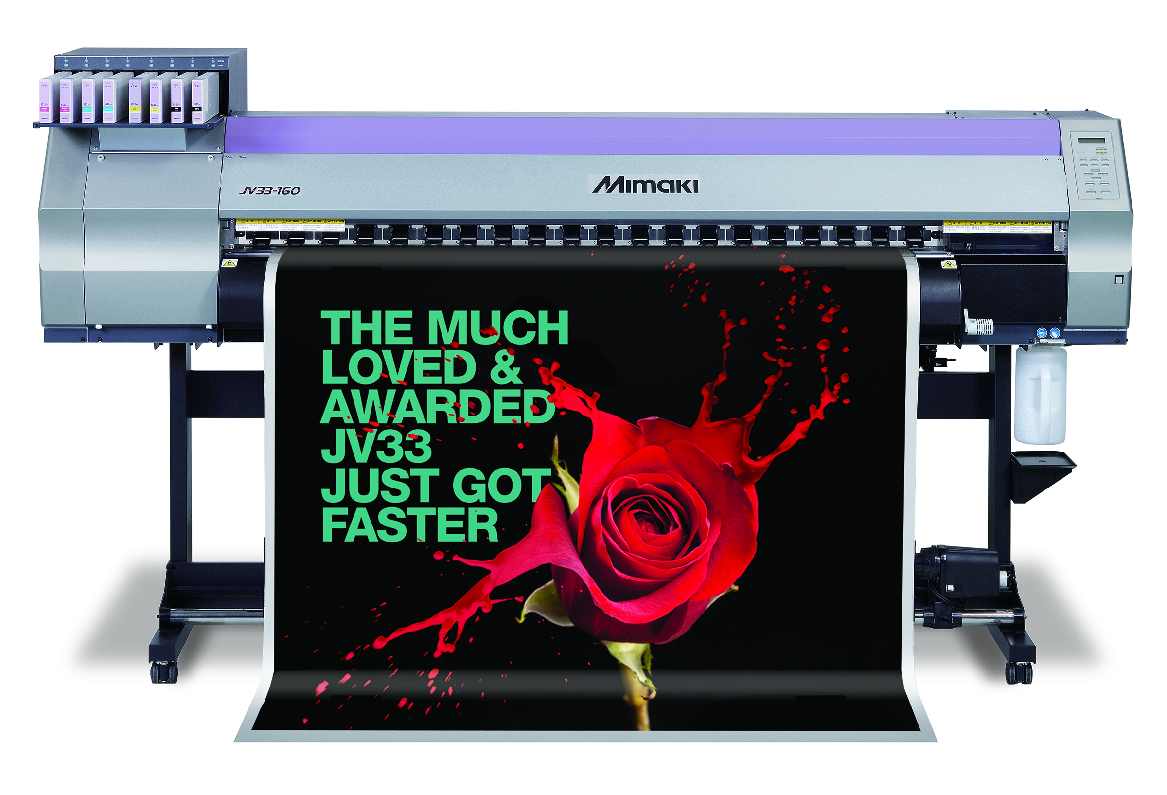 A third Mimaki JV33 has been installed at Rocket Graphics