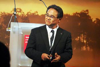 Mr Tadashi Furushima, Corporate Vice President of Ricoh