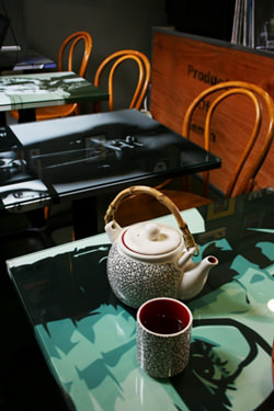 Tea-house-interior,-60's-&-70's-icon-inspired-table-tops-3